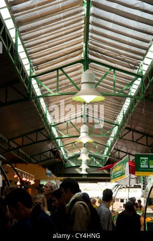 The 'Marche des Enfants Rouges' Parisian outstanding Market, Paris France. - Stock Photo