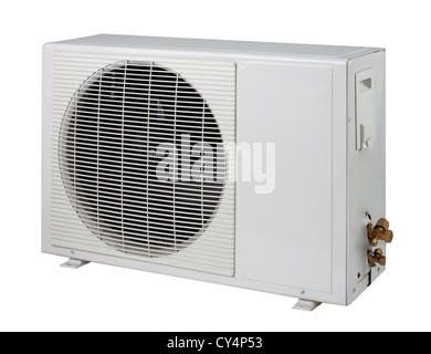 Air condition condenser unit isolated - Stock Photo