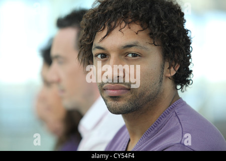 Portrait of a young man Metis - Stock Photo