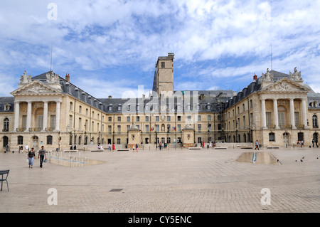 Ducal Palace, city hall, Place de la Liberation Square, Dijon, Cote d'Or, Bourgogne, Burgundy, France, Europe - Stock Photo