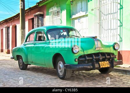 Old Pontiac Trinidad - Stock Photo