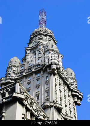 Palacio Salvo, Montevideo, Uruguay, South America - Stock Photo