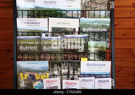 Albanian Guide Books - Stock Photo
