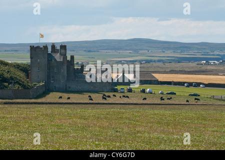 Castle of Mey - Stock Photo