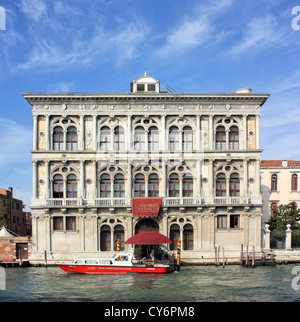 Palazzo Ca' Vendramin Calergi, Venice Casino (Casinò di Venezia) - Stock Photo