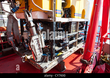ROV, remotely Operated Vehicle - Stock Photo