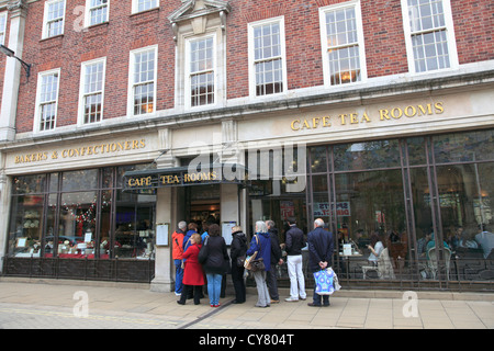 Betty's Cafe and Tea Rooms, York, North Yorkshire, Yorkshire, England, UK - Stock Photo
