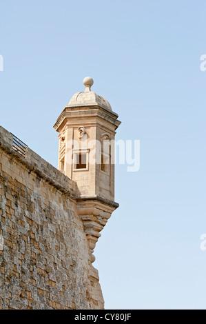 Maltese watchtower - Stock Photo