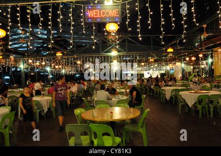 Haka Chinese restaurant in Kuala Lumpur Malaysia - Stock Photo