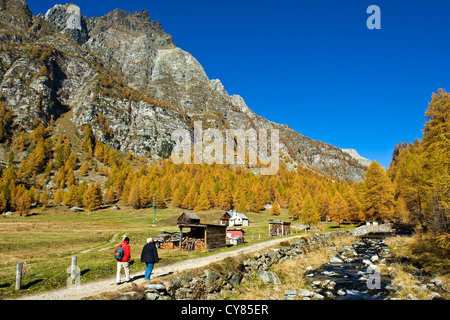Italy, Piedmont, Devero alp, Alpe Devero - Stock Photo
