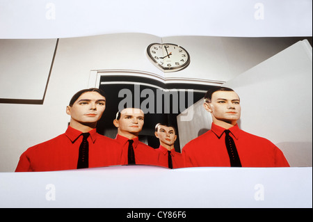 Kraftwerk The Man Machine booklet artwork - Stock Photo