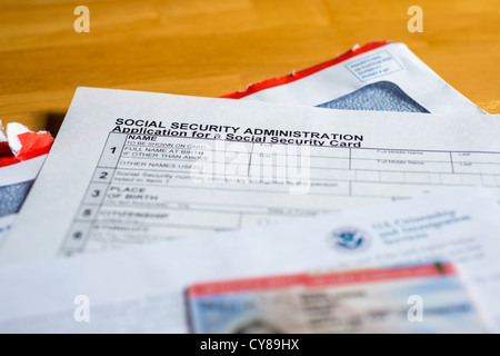 Uscis Work Permit Permit And Social Security Administration Form