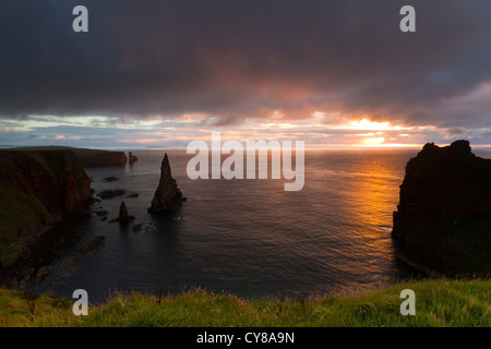 Sunrise at Duncansby Head - Stock Photo