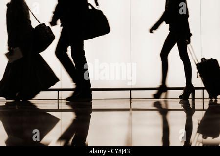 El Prat airport. Barcelona, Spain - Stock Photo