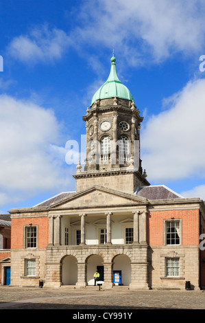 Dublin, Republic of Ireland, Eire. Bedford Tower 1761 in Dublin castle's Great Courtyard - Stock Photo