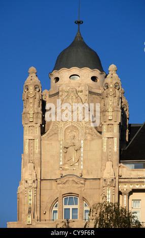 Hungary, Budapest, Gresham Palace, Four Seasons Hotel, - Stock Photo
