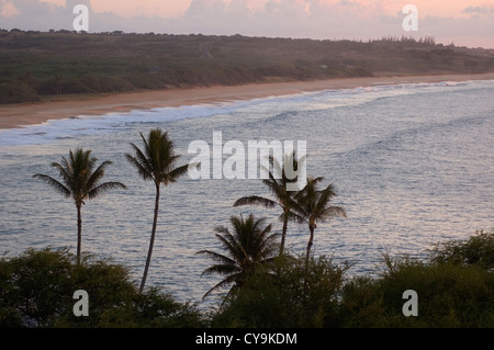Elk284-6082 Hawaii, Molokai, Papohaku Beach - Stock Photo