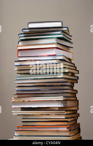 Pile of books. - Stock Photo