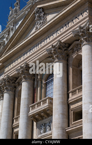 VATICAN ST PETER'S BASILICA - Stock Photo