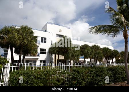 old administration building us naval station base nas key west florida usa - Stock Photo