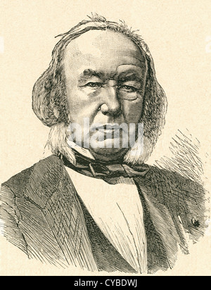 Claude Bernard, 1813 – 1878. French physiologist. - Stock Photo