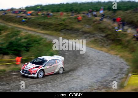 2012 FIA Wales Rally GB. - Stock Photo
