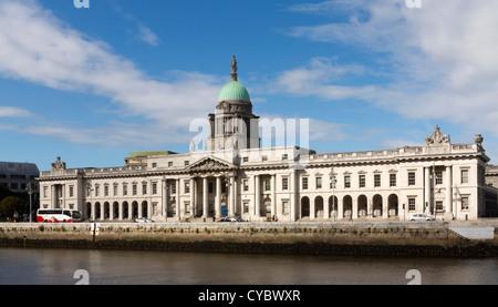 The Custom House, Dublin, Ireland - Stock Photo