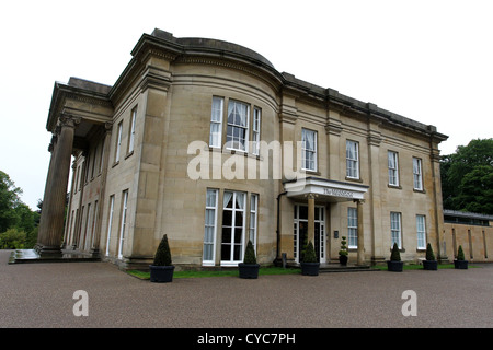 The Mansion wedding and conference venue in Roundhay Park, Leeds, West Yorkshire, UK. - Stock Photo