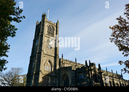 The Priory Church of St Mary Lancaster UK - Stock Photo