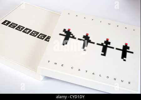 Kraftwerk The Catalogue box set - Stock Photo