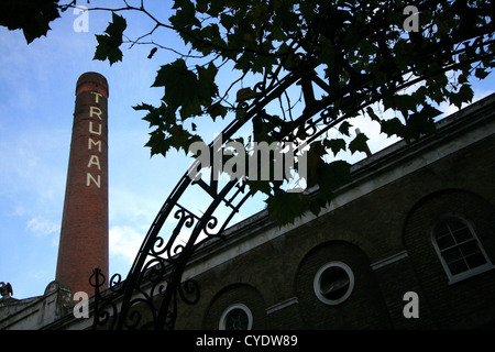 Truman Brewery, Brick Lane, London - Stock Photo