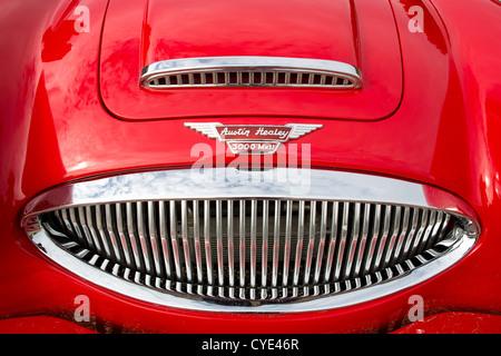 Austin Healey classic car. - Stock Photo