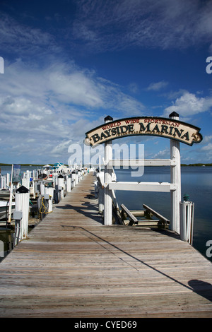 world wide sportsman bayside marina islamorada florida keys usa - Stock Photo
