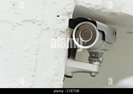 Video Camera Security System - Stock Photo