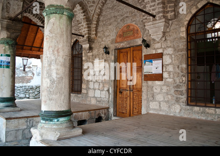 Nesuh-Aga Vucijakovic mosque, Mostar, Bosnia and Herzegovina - Stock Photo