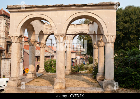 Turbe at Nesuh-Aga Vucijakovic mosque, Mostar, Bosnia and Herzegovina - Stock Photo