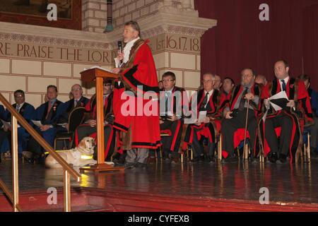 Saturday 3rd November 2012, Northampton, UK. The 9th/12th ...