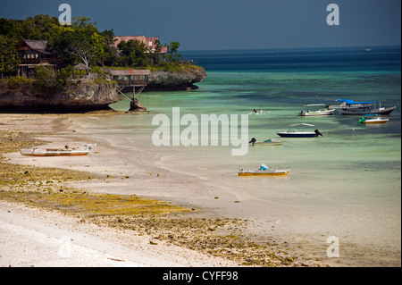 Scenic view of Bira Beach Sulawesi Indonesia. - Stock Photo