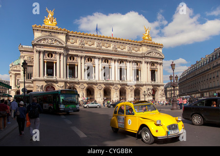 Opera Paris - Palais Garnier at place de l'opera - Stock Photo