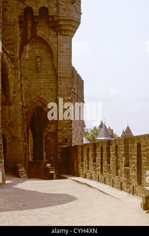Carcassone,Battlements,City Walls,Gate Entrance,CityViews,Unesco World Heritage Site,Tarn-et-Garonne,French department,SW France