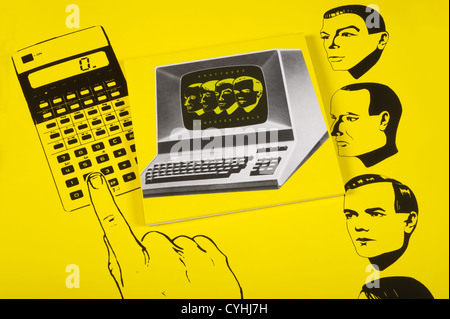 Kraftwerk, Computer World CD - Stock Photo