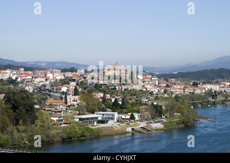 The River Minho And The Spanish Town Of Tui As Seen From Valenca - Valenca portugal map