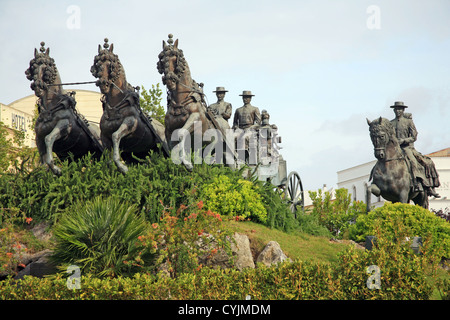Spain, Andalusia, Jerez de la Frontera, monument - Stock Photo