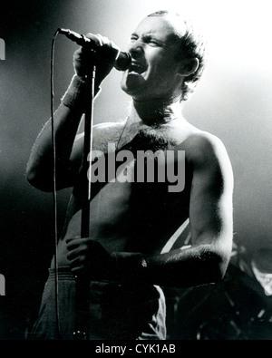 PHIL COLLINS  UK rock musician about 1998. Photo Laurens van Houten - Stock Photo