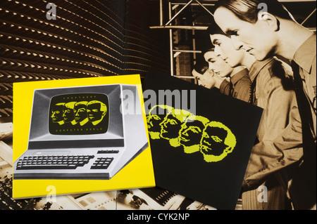 Kraftwerk 'computer world' CD - Stock Photo