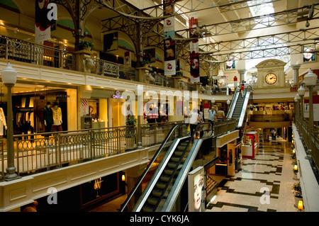 Argentina. Buenos Aires. Recoleta. Patio Bullrich upscale shopping mall. - Stock Photo