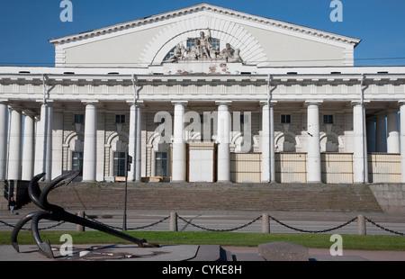 Stock Exchange, Naval Museum, St. Petersburg, Russia - Stock Photo