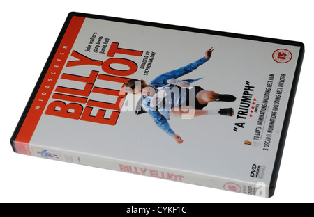 Billy Elliot DVD - Stock Photo