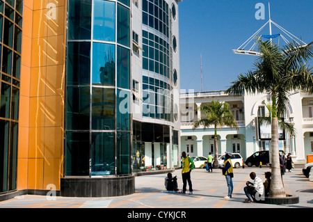 Mares shopping mall, maputo, mozambique - Stock Photo