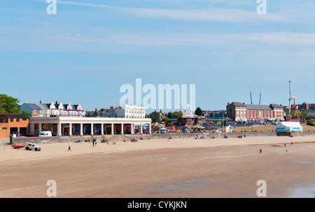Wales, Barry Island, seaside resort, beach - Stock Photo